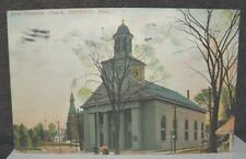 1907 First Unitarian Church Beverly Massachusetts Sent To Lawrence Mass