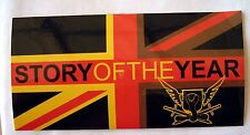 Story of the Year sticker  Licensed