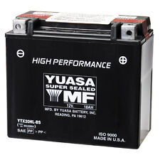 NEW MAINTENANCE FREE YUASA SEALED  BATTERY YTX20HL-BS ATV MOTORCYCLE