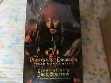 hot toys pirates of carribean jack sparrow 12 inch 1/6 cannival version rare