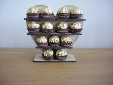 Mini Cœur Ferrero Rocher Présentoir, Pyramide Arbre Détient 26