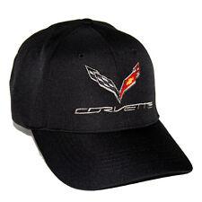 2014 2018 Corvette C7 Chevrolet Corvette Coolmax Black Hat Cap FREE SHIP IN BOX