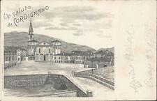 23.10.1900 - Un Saluto da Cordignano - Treviso - Veneto  -  Siehe XXL-FOTO