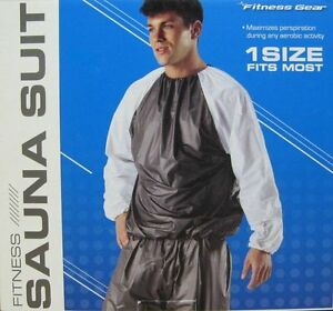 Fitness Gear 1 Size Fits Most Fitness Sauna Suit - Increase Targeted Water Loss!