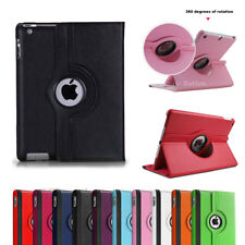 For iPad 2 3 4 5 6 7 Air 1 2 3 Rotate Case Smart Leather Shockproof Cover