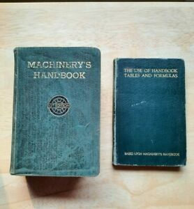 Machinery's Handbook 13th Edition + Tables and Formulas book