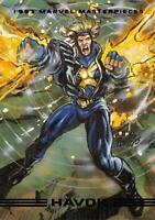 HAVOK / 1993 Marvel Masterpieces BASE Trading Card #84