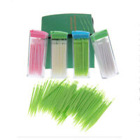 Piksters Interdental Brush 50 Pack Size 6 Green Handle Floss Teeth Cleaning