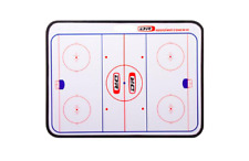 "New DR Ice Hockey Dry Erase Coaches Board 24"" x 18"" Assistant Coach training aid"