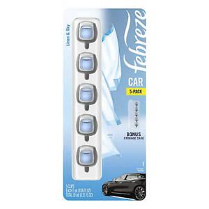 Febreze  Car Vent Clips. Linen & Sky 5 Pack