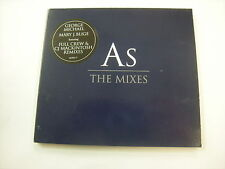 GEORGE MICHAEL - AS (THE MIXES) - CD SINGLE DIGIPACK NEW UNPLAYED 1999 - 3 TR.