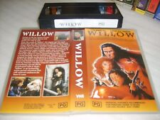 WILLOW (1988) - Australian VHS Issue George(Star Wars)Lucas - Classic Adventure!
