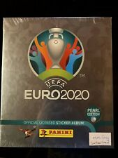 Panini Euro 2020 Hardcover Collectors Edition Pearl Swiss New Sealed
