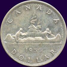1956 Canada Silver Dollar Coin ( 23.33 Grams .800 Silver )