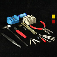 16 Watch Case Band Strap Remover Opener Repair Kit Tool New