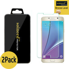 [2-Pack] SOINEED Tempered Glass Screen Protector Saver For Samsung Galaxy Note 5
