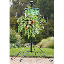 Topsy Turvy Upside Down Hanging Tomato Tree Planter & Stand Grows up to 3 Plants