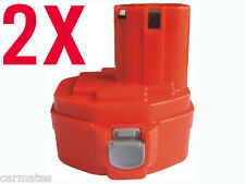 2 Batteries For Makita 14.4V A 3.0Ah Ni-MH Heavy Duty 1420 1422 1433 6237D 6932D