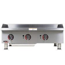 "Apw Wyott Ggm-36i 36"" Gas Countertop Champion Griddle with Manual Controls"