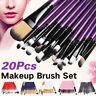 20pcs/Set Pro Makeup Brushes Kit Powder Foundation Eyeshadow Eyeliner Lip Brush