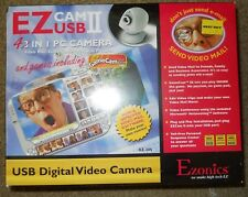 New Sealed EZ Cam II USB 4 In 1 PC Camera Video Mail Video Conference Still Pic