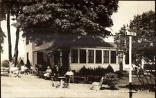Rockland ME Humphrey's Tourist Home Real Photo Postcard
