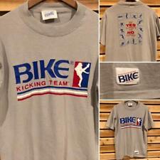 Rare EUC VTG 80s Bike Kicking Team Sports SINGLE STITCH Say No Drugs T Shirt L