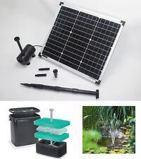 30W Solarpumpe Solarteichpumpe Solar Teich Pumpe Gartenteich Bachlauf Filter NEU
