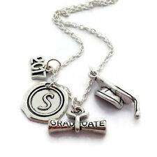 Personalised Graduation Necklace Class of 2017 Gift Wax Seal Jewelry