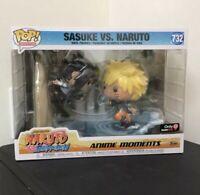 Funko Pop!-Anime Moments- Sasuke vs Naruto Gamestop Exclusive Naruto Shippuden