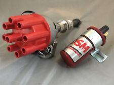 Ford Cleveland 302 351 V8 ELECTRONIC DISTRIBUTOR / COIL KIT 13mm shaft RED KIT