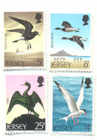 Jersey-Birds set mnh 1975-seabirds