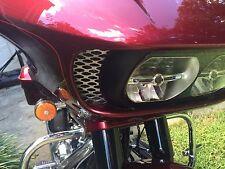 Road Glide vent grille, custom fit, Harley Davidson