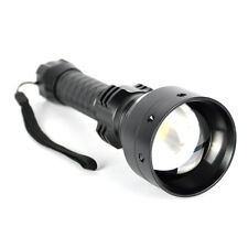 Zoomable 850nm 10W Infrared IR Flashlight Hunting Torch Night Vision Light 18650