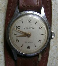 2 MONTRES HOMME Kelton Armachoc Calendrier Vintage Mecanique