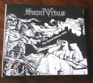 SAINT VITUS The Tyrant Demos 1979 CD Digipak Pentagram Obsessed Trouble Kyuss