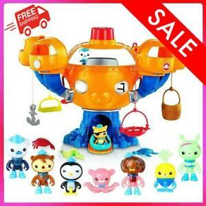 Octonauts Ocean Adventure Action Toy Figures Light Music Joy Octopus Castle Gift