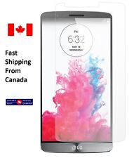LG G3 Screen Protector D850 D852 HD ULTRA CLEAR Front Free Canada Shipping+Bonus