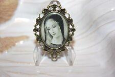 Custom Bronze Rosary Center Part/ Rosary Making/ Sweet Virgin Mary