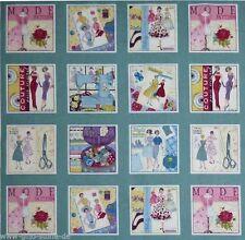 Sew Retro Mode Patchworkstoffe Stoffe Patchwork Vintage Nostalgie Baumwollstoffe