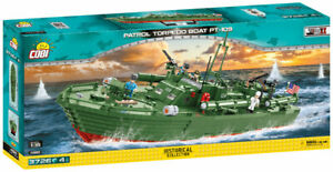 Cobi 4825 - Historical Collection - 1:35 WWII Patrol Torpedo Boat PT-1
