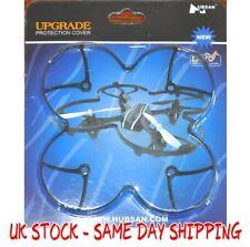 Hubsan X4 Cuadricóptero Negro Hélice Tapa de Protección Led & Original - UK