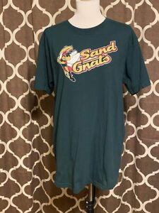Savannah Sand Gnats Shirt Majestic Tee New York Mets Minor League Baseball Large
