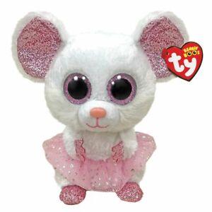 Beanie Boos Medium Plush Nina Mouse With Tutu