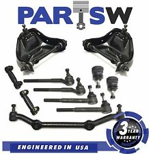 11Pc Suspension Kit for Chevy S10 Isuzu GMC Jimmy Upper Control Arms Ball Joints