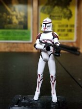 Star wars Clone Trooper Coruscant Guard Battle pack. Loose
