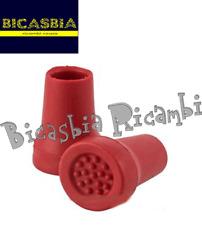 10970 - ZAPATOS CABALLETE CENTRAL EN CAUCHO ROJO DM 22 VESPA 50 125 PK HP