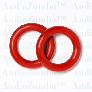 TUBE DAMPER RINGS PAIR *VIBRA-SORB 20MM 6N1 6N2  6N3 12AX7 12AT7 ECC83 12AU7 6J9