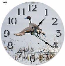 "10.5"" Northern Pintail Bird Clock Large 10.5"" Wall Clock Home Décor Clock - 3026"