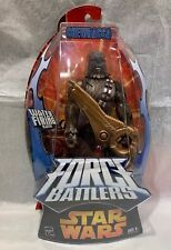 2005 Hasbro Star Wars Force Battlers Chewbacca w/Water Firing Blaster